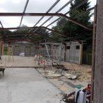 Demolishing the Scout Hut at Danbury